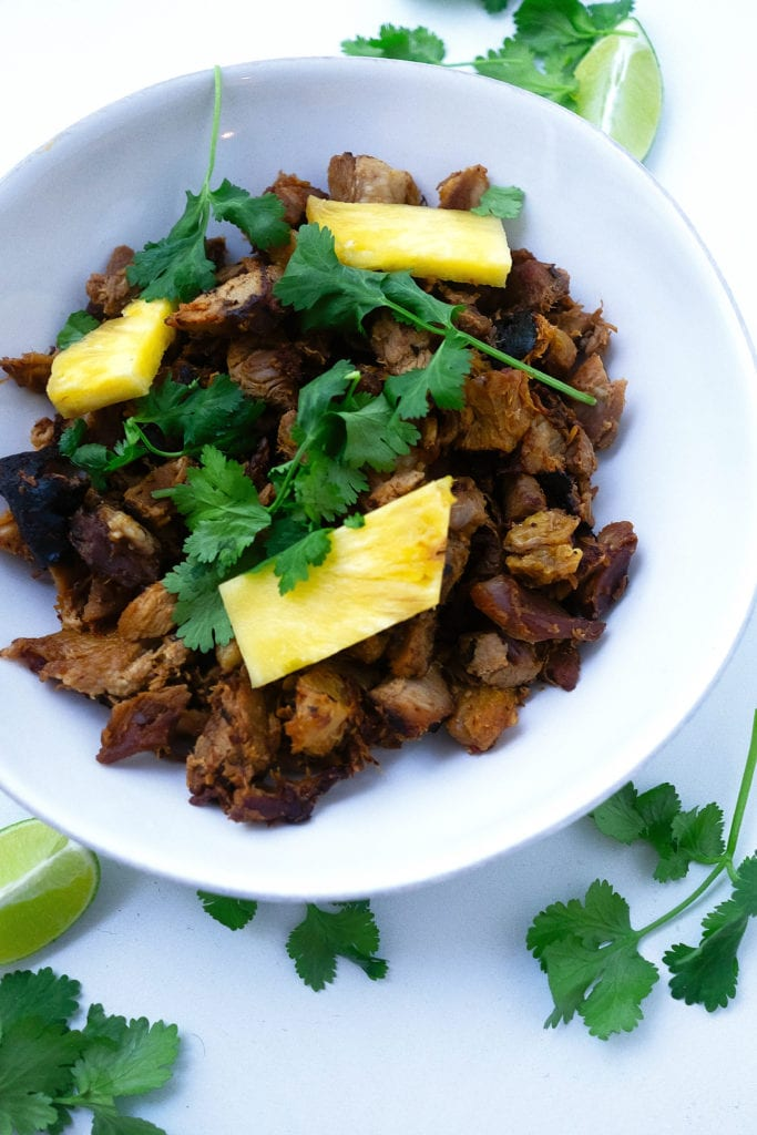 instant pot carnitas with al pastor flavors