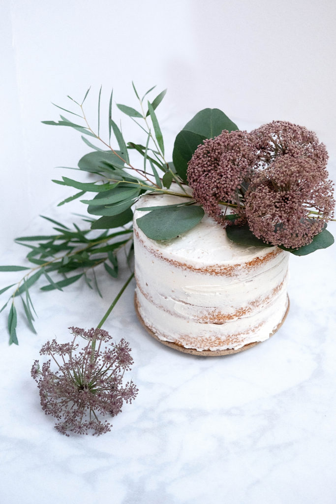 how to make a fancy flower cake