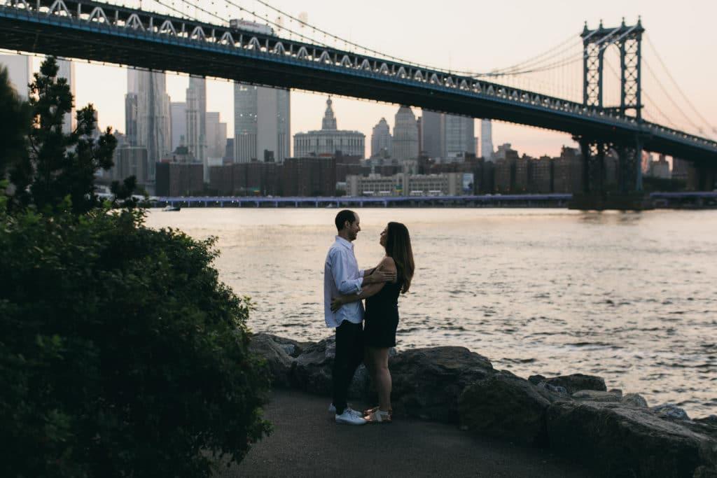 brooklyn engagement photo shoot