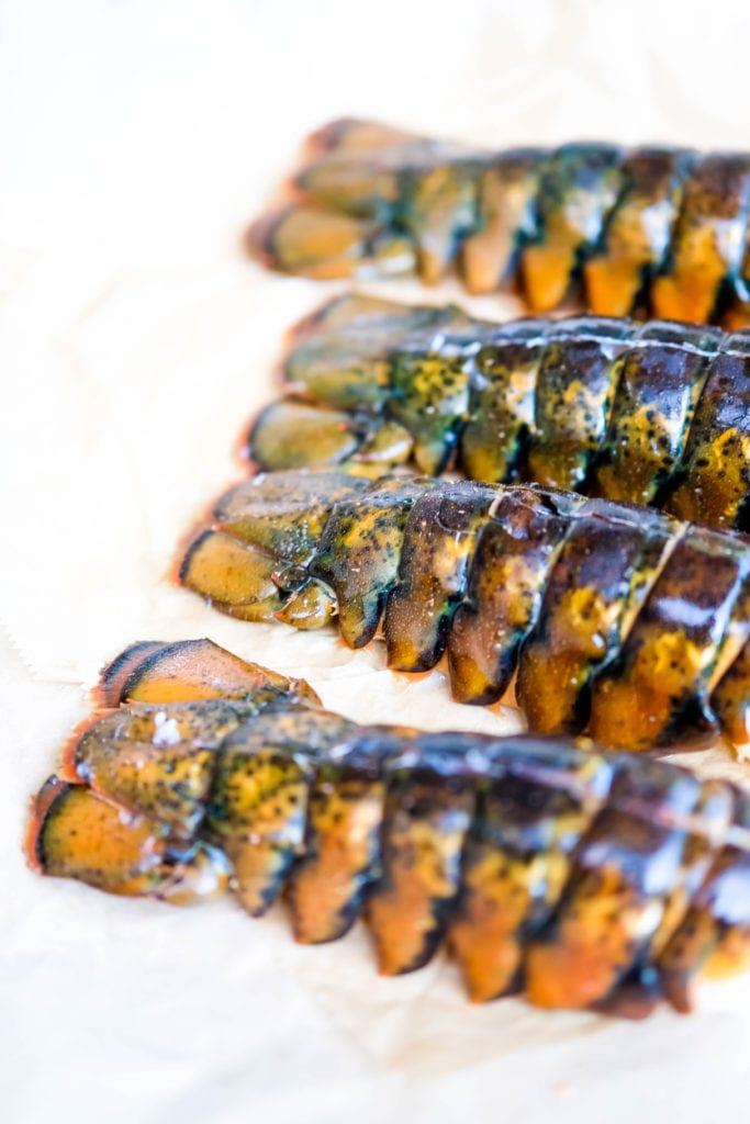 lobster tails for coconut lobster rice