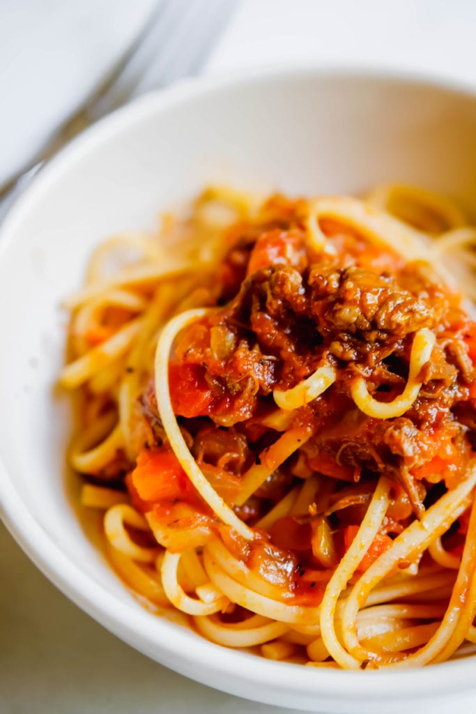 Instant Pot Ragu with Short Rib