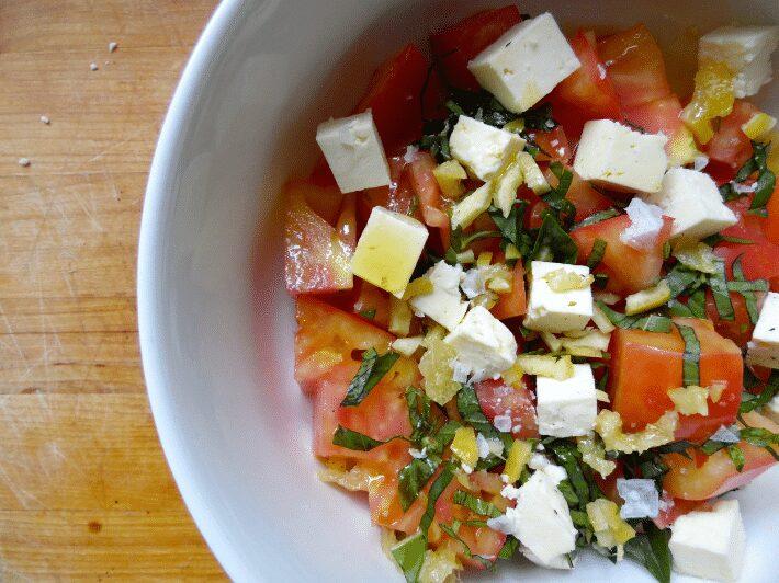 delancey copycat tomato salad