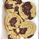 buckwheat chocolate chunk cookies