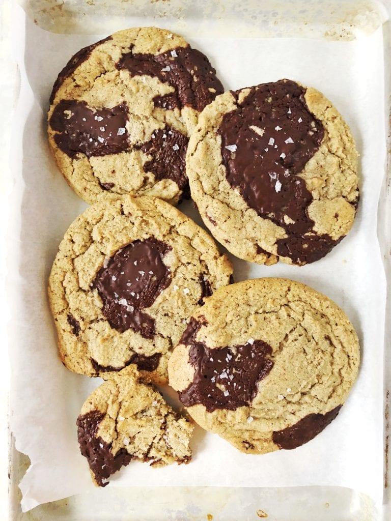buckwheat chocolate chunk cookies