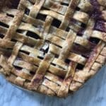 blackberry rhubarb pie crust