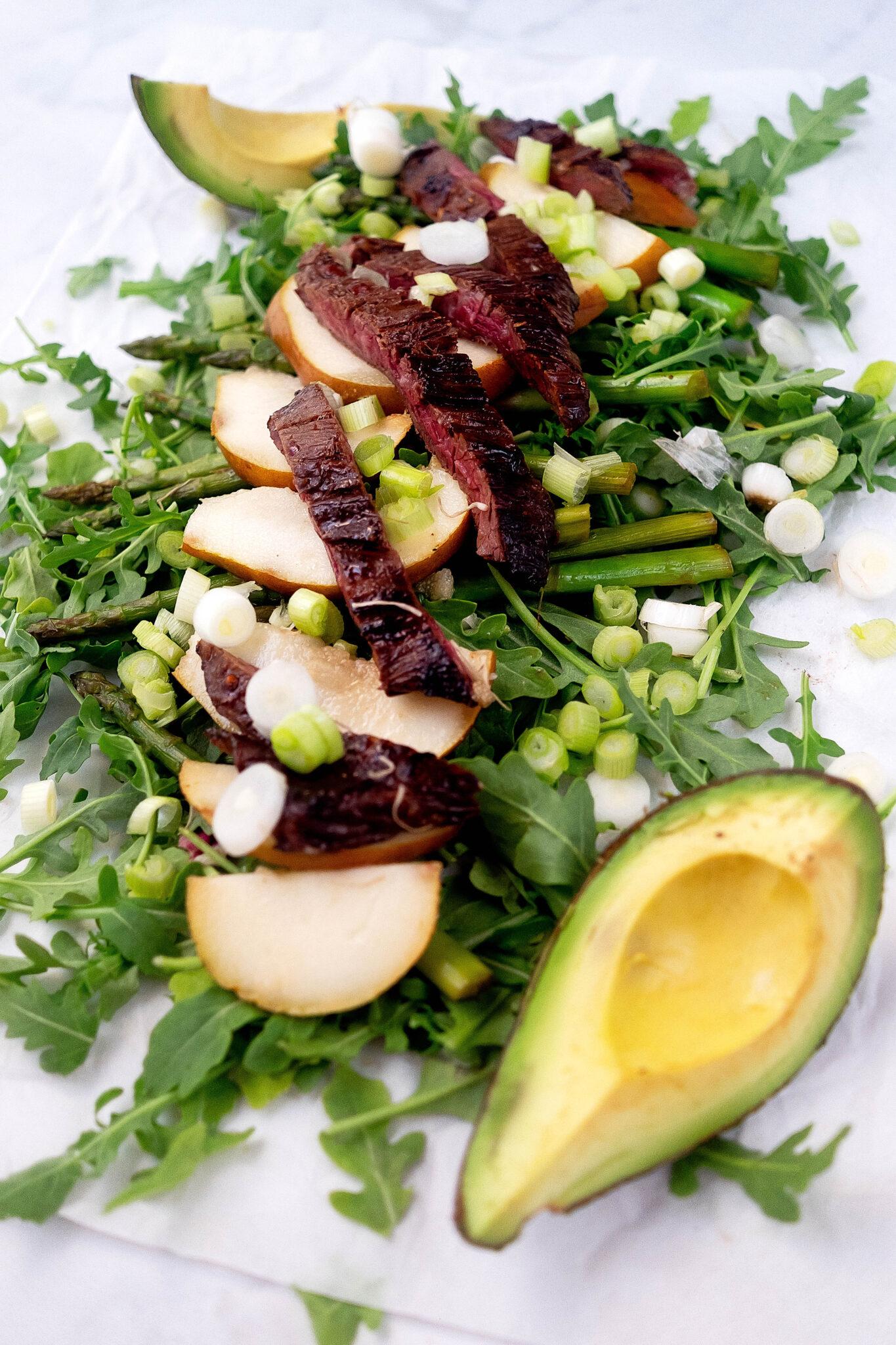 Summer Asian Steak Salad