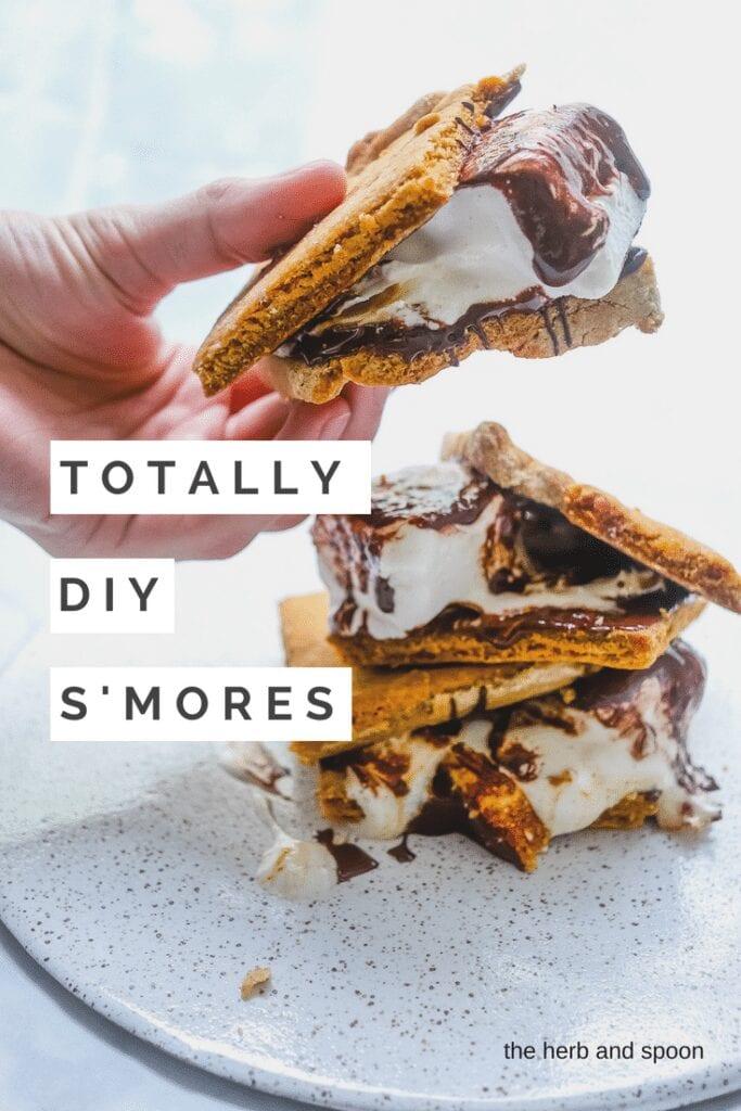 totally DIY s'mores