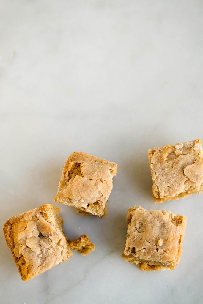 Vegan Gluten Free Chai Blondies