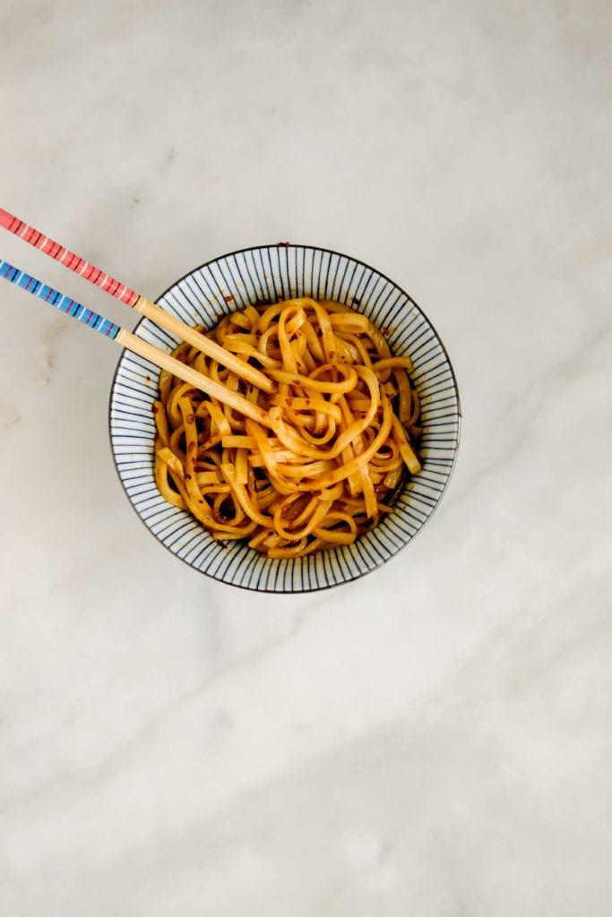 chili oil noodles
