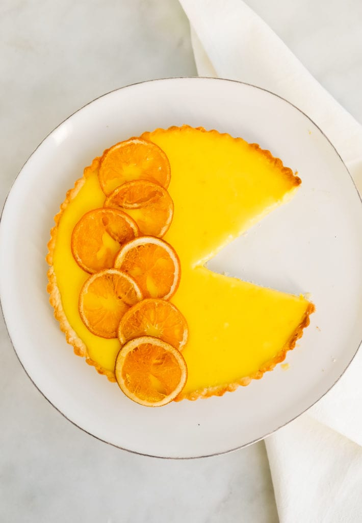 Orange Tart - A Citrus Tart Upgraded with Oranges