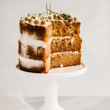 Chamomile Tea Layer Cake
