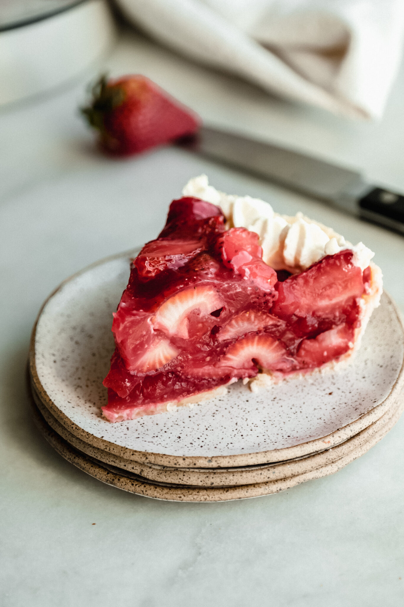 fail-proof strawberry pie