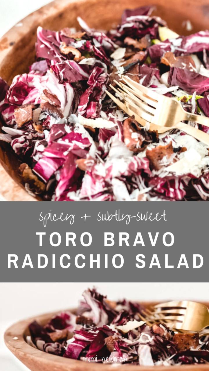 Radicchio Salad Inspired By Toro Bravo