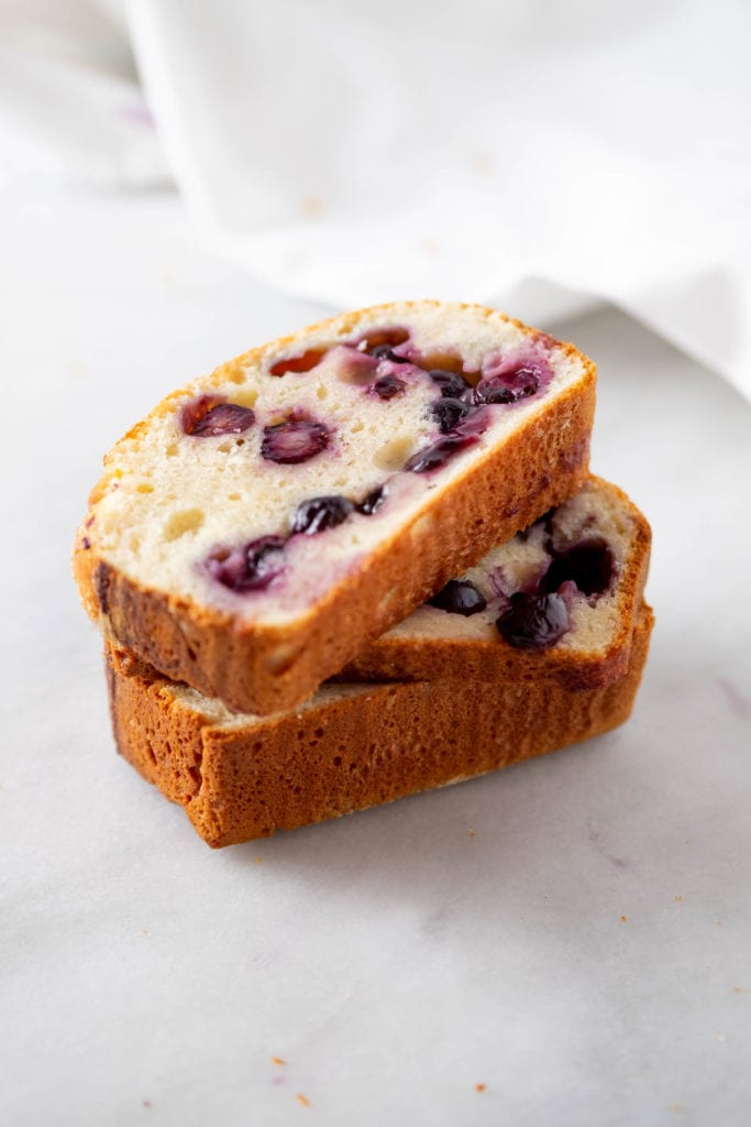 Blueberry Brioche Bread