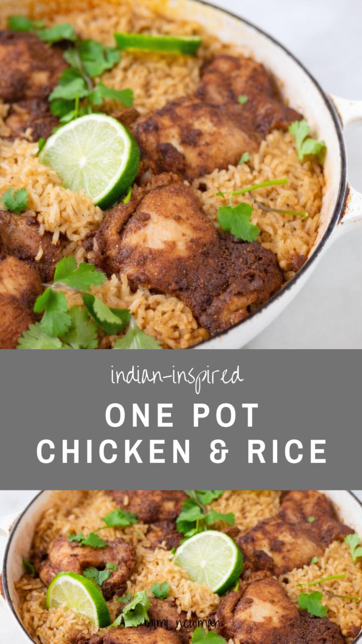 Garam Masala Chicken and Rice