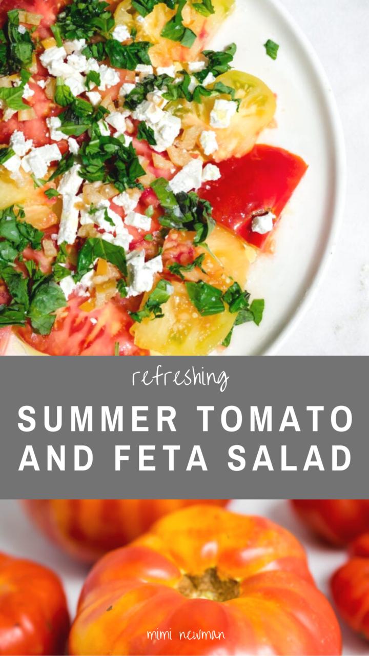 Summer Tomato Salad with Feta