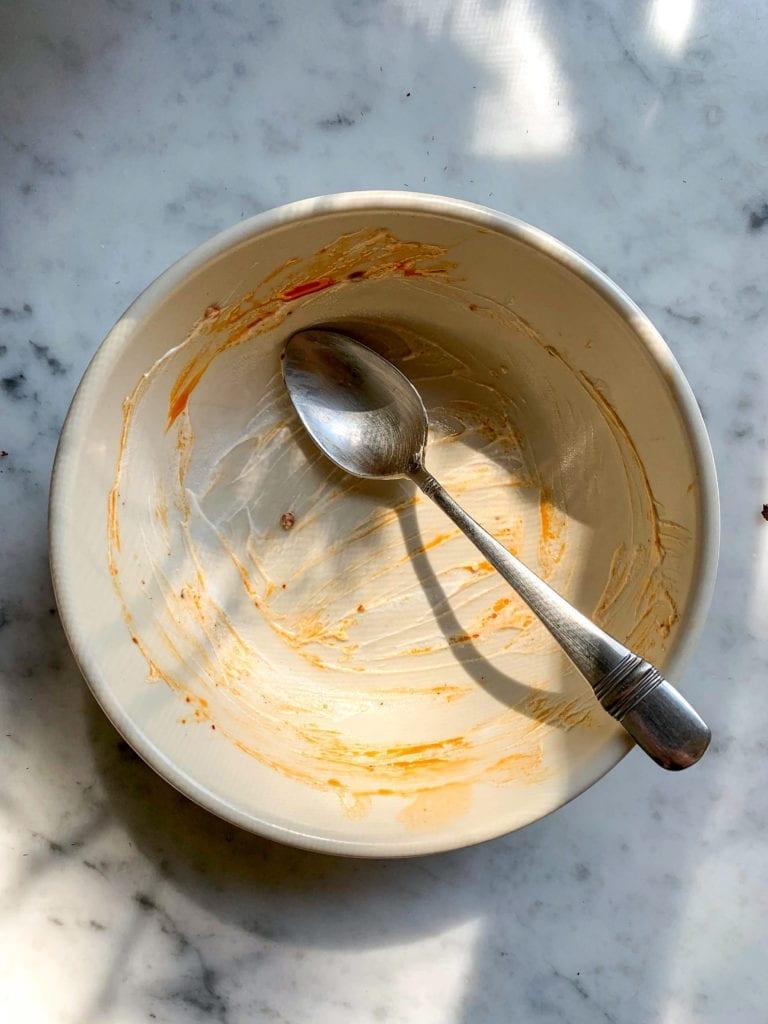 Savory BLT Yogurt Bowl with Chili Oil