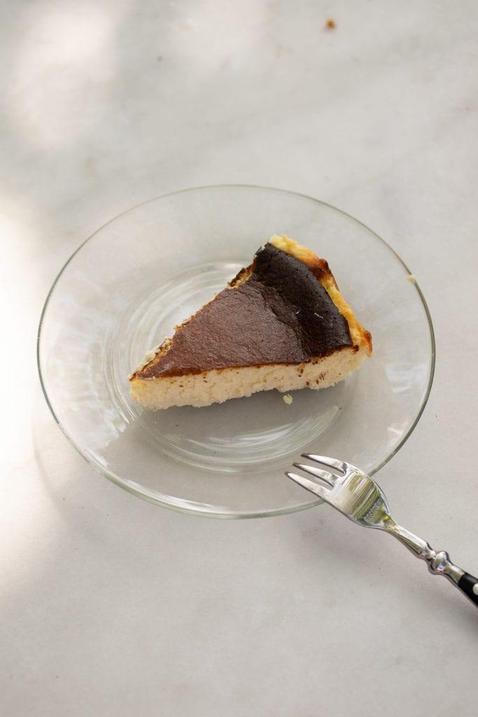 A Keto Burnt Basque Cheesecake Recipe