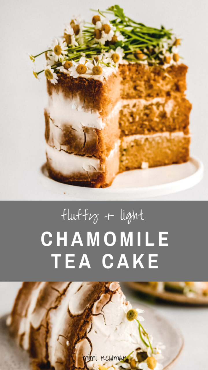 Chamomile Layer Cake