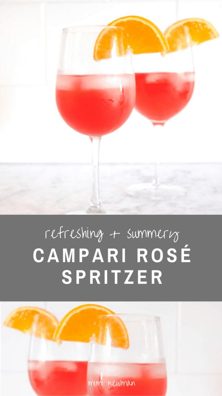 Campari Rosé Spritzer